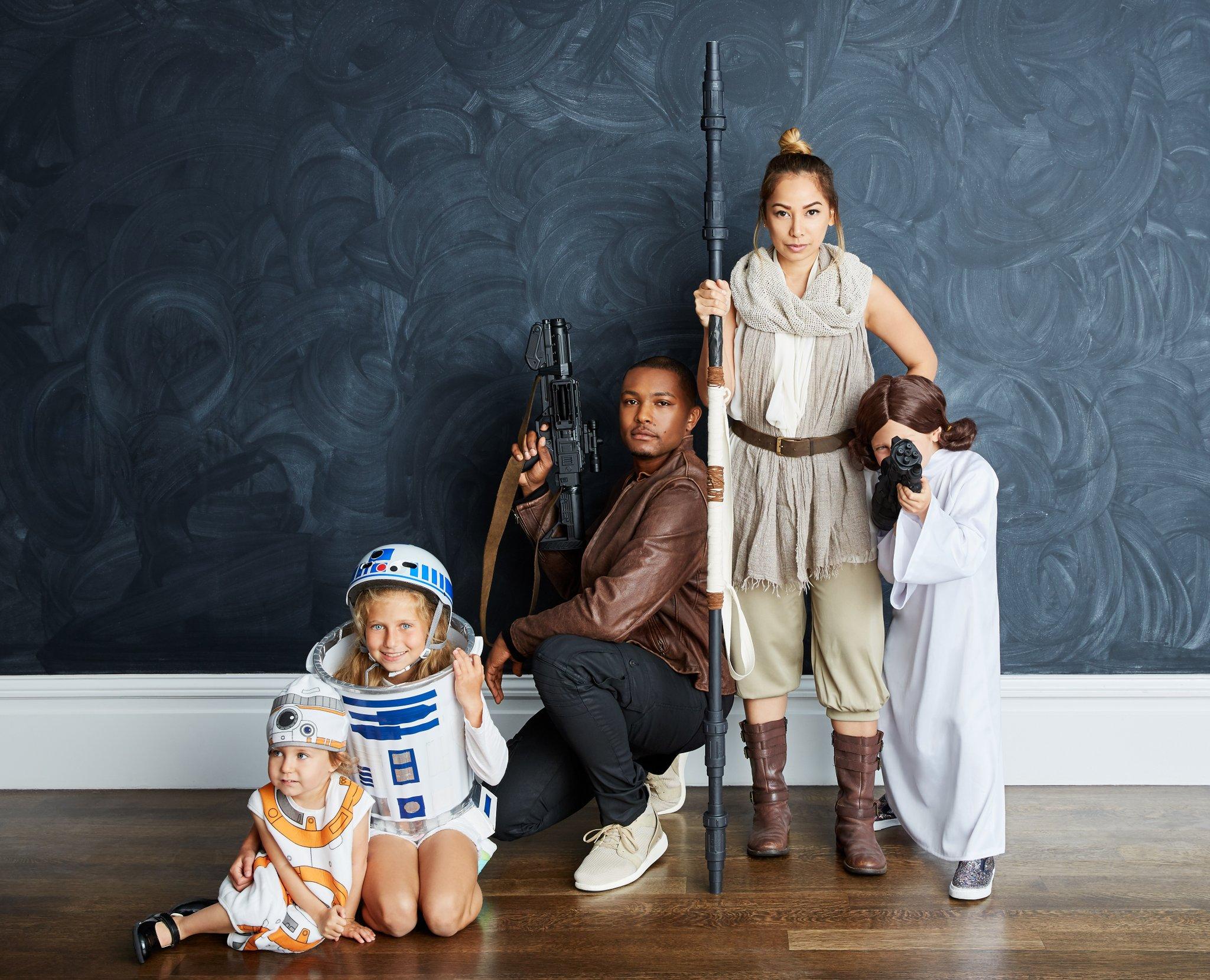 Family Halloween costume idea: Star Wars family Halloween costume at Popsugar