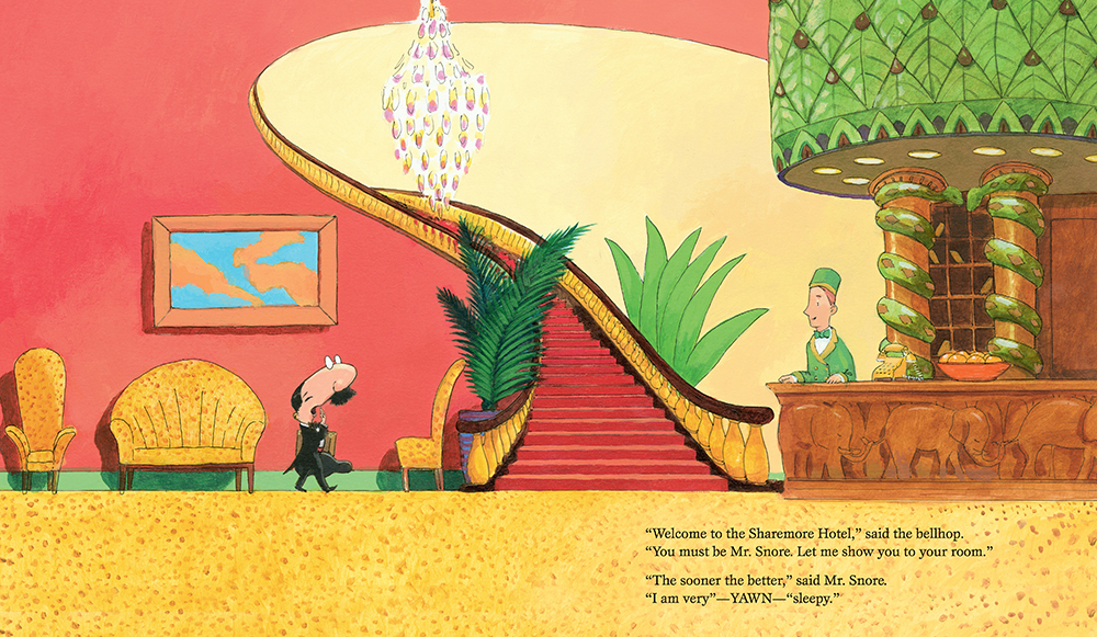 There's a Dinosaur on the 13th Floor: the new laugh-out-loud children's picture book