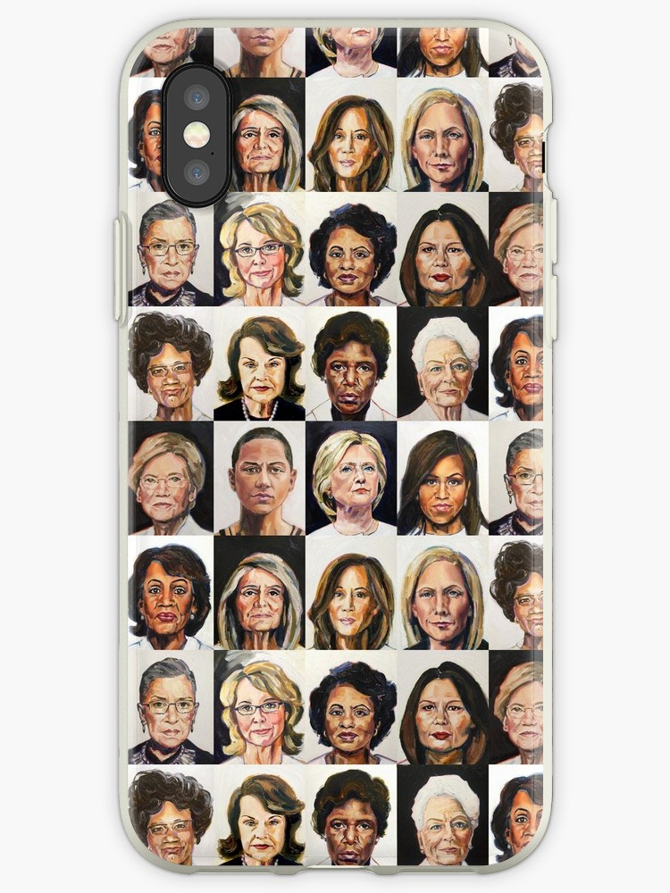 Tina Duryea's Portrait Project of Sheroes for iPhone