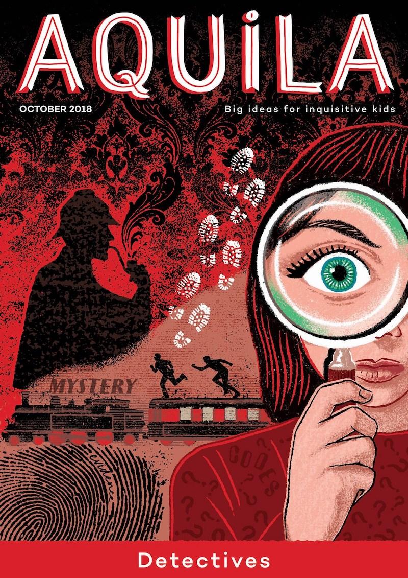 Aquila children's magazine: Detectives issue