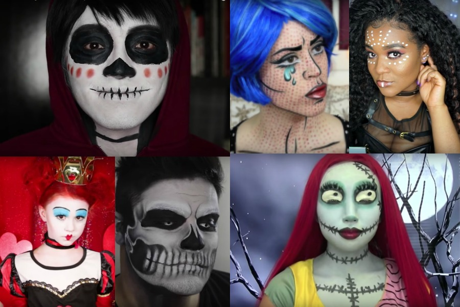 20 of the best Halloween face painting video tutorials on YouTube | coolmompicks.com