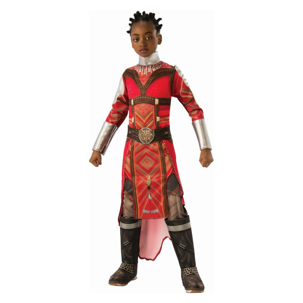 Pop culture Halloween costumes for kids: The Black Panther Dora Milaje warrior/Okoye costume - how to buy or DIY
