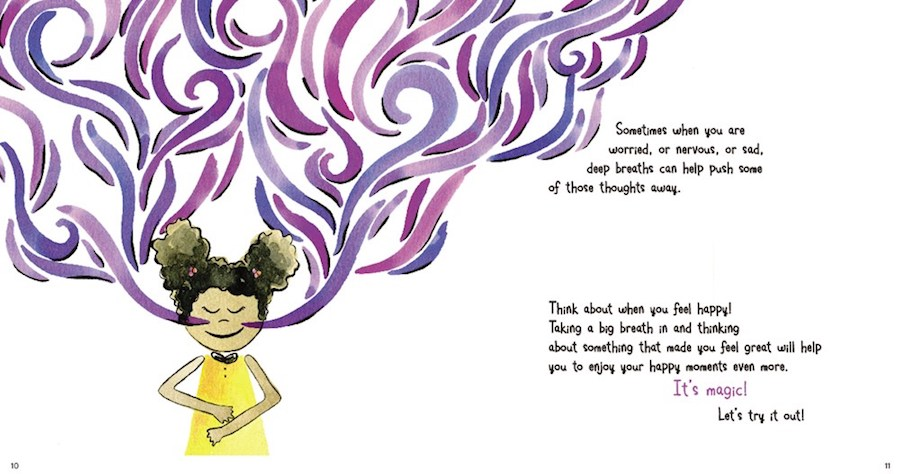 Children's books about mindfulness: My Magic Breath by Nick Ortner, Allison Taylor and Michelle Polizzi