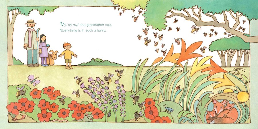 Children's books about mindfulness: Quiet by Tomie dePaola