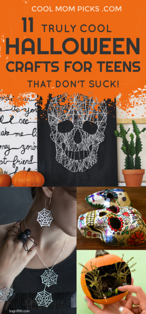 11 cool Halloween crafts for teens and tweens that don't suck (because so many do) | CoolMomPicks.com