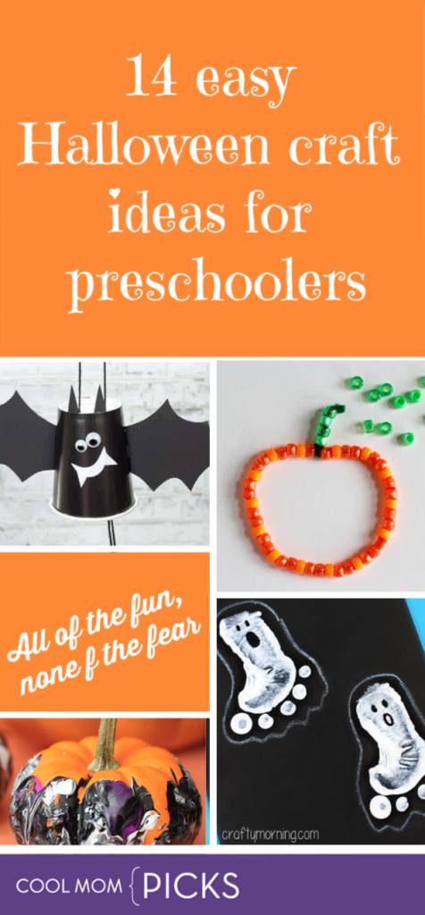 14 Fun And Easy Halloween Crafts For Preschoolers That They Ll Love