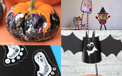 14 fun and easy Halloween crafts for prechoolers