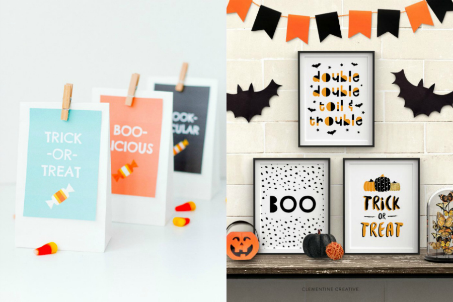 17 of our favorite kid-friendly Halloween party printables to make your bash a smash