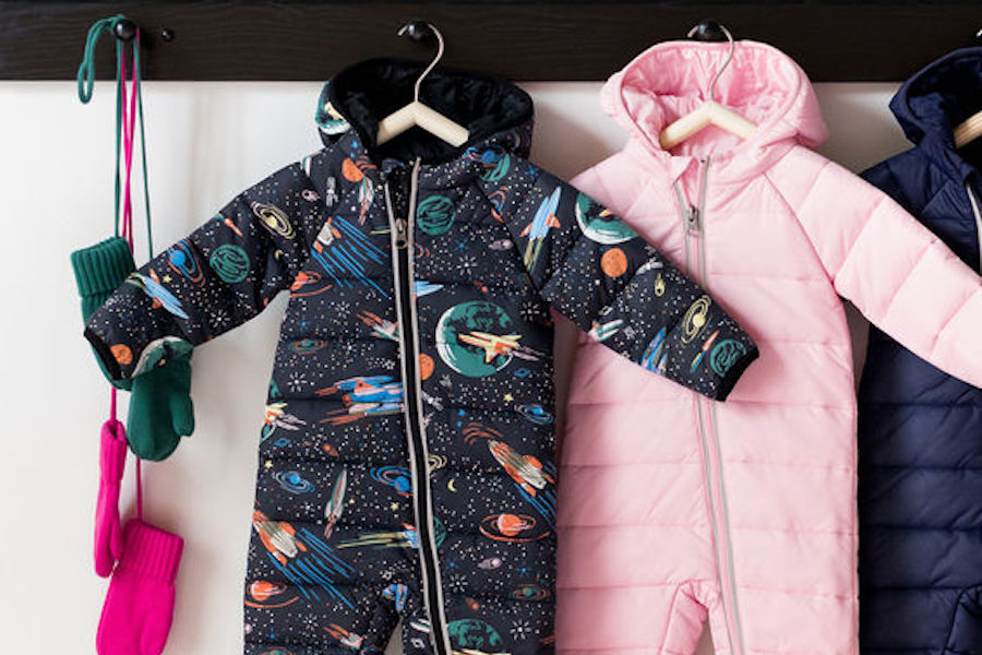 Favorite finds from the Hanna Andersson sale: Baby and toddler snowsuits in great solids and patterns