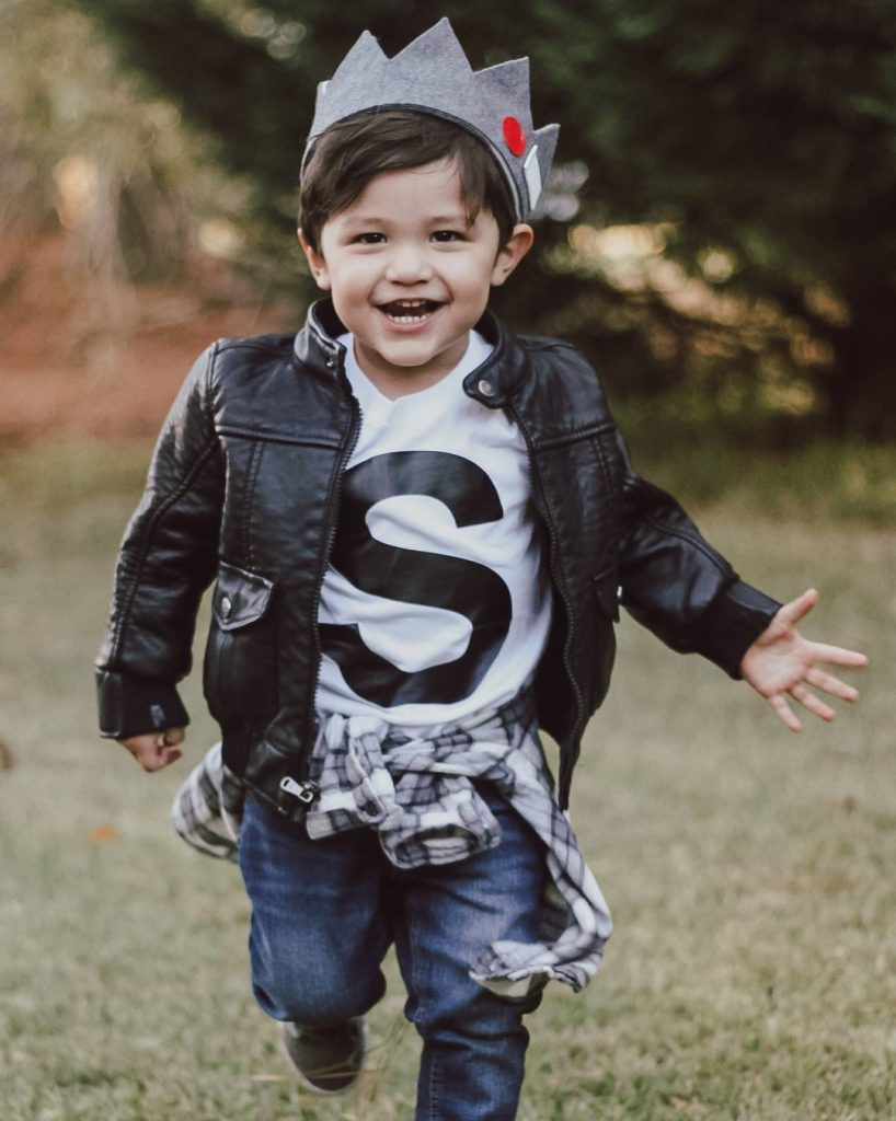 Pop culture Halloween costumes for kids: Riverdale Jughead costume from Sarah Macon