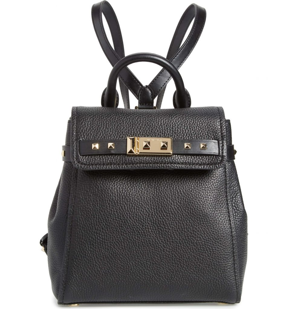 Michael Kors Small Leather Backpack now 40% off on sale at Nordstrom!