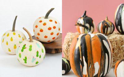 12 fantastic no-carve pumpkin ideas for a very last-minute Halloween