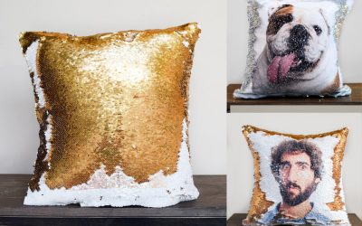 Ever wanted to see your face in sequins? Here's your chance.