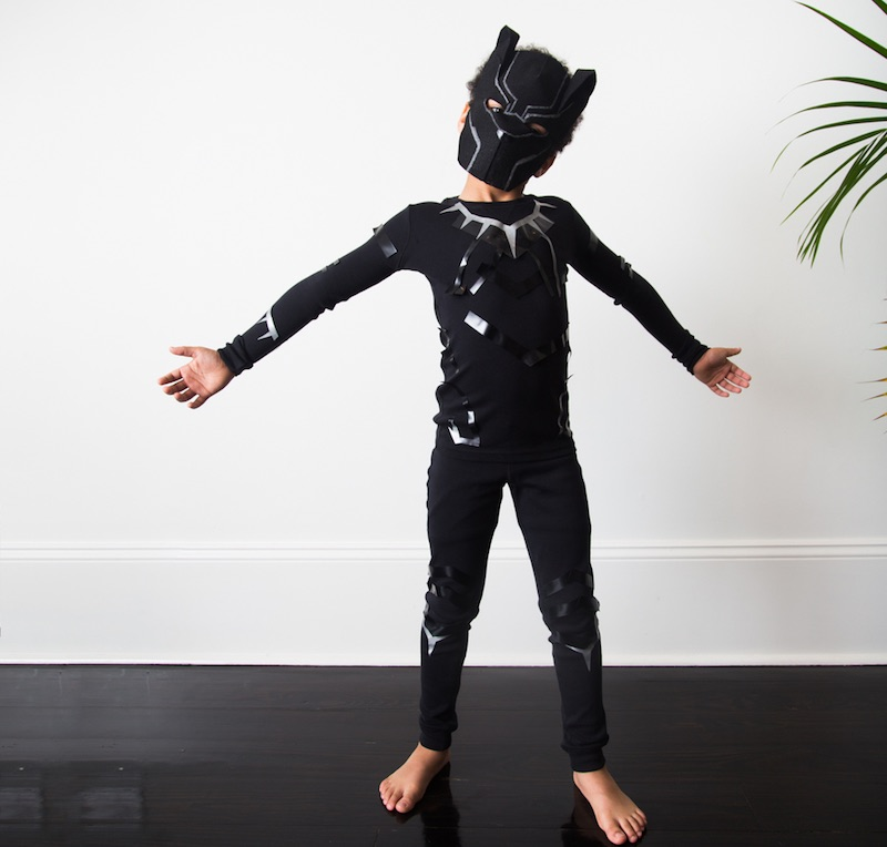 Pop culture Halloween costumes for kids: Black Panther at Primary