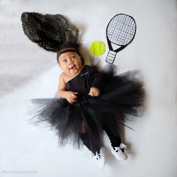 Pop culture Halloween costumes for kids: Serena Williams at Primary