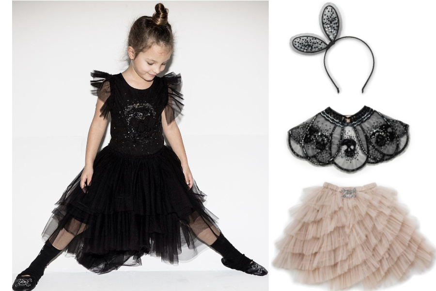 This indie kids' label collab is like goth-fantasy-new-orleans-ballerina and it's wonderful!