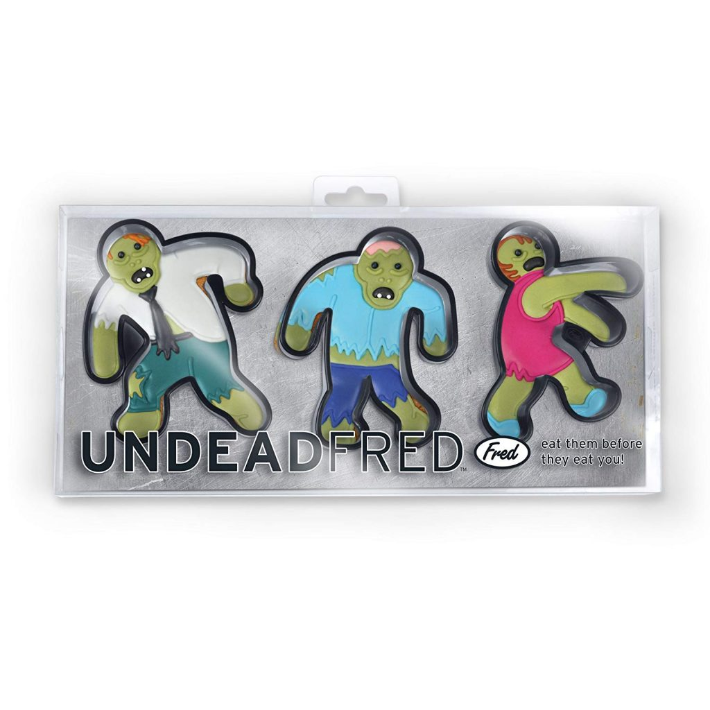 Undead Fred Zombie Cookie Cutters: Non-Candy Halloween Gifts for tweens and teens