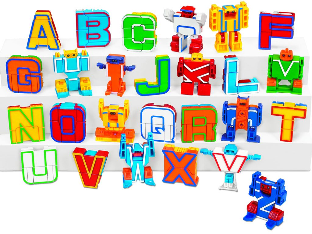 Top learning toys from Lakeshore Learning: Alpha-Bots inspire early literacy, helping with letter identification and small motor skills (sponsored)