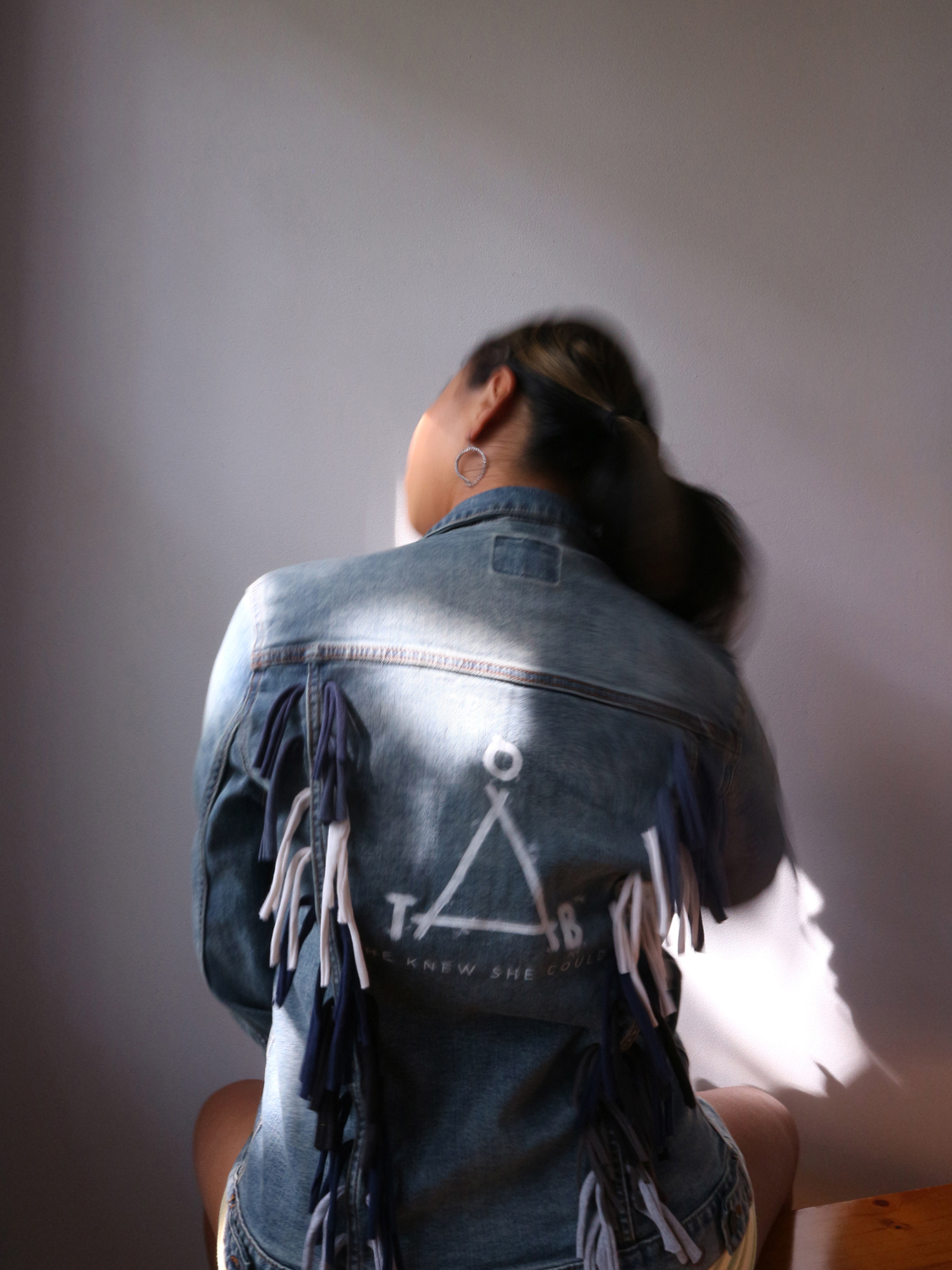 Jean Jacket by Courtney Chu: Support Campowerment and Give Her Camp