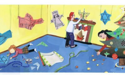 3 terrific books for children who celebrate both Christmas and Hanukkah