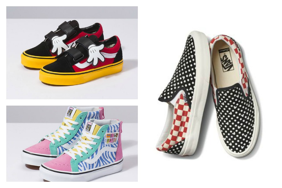 Hold onto your mouse ears! Disney Vans are here.