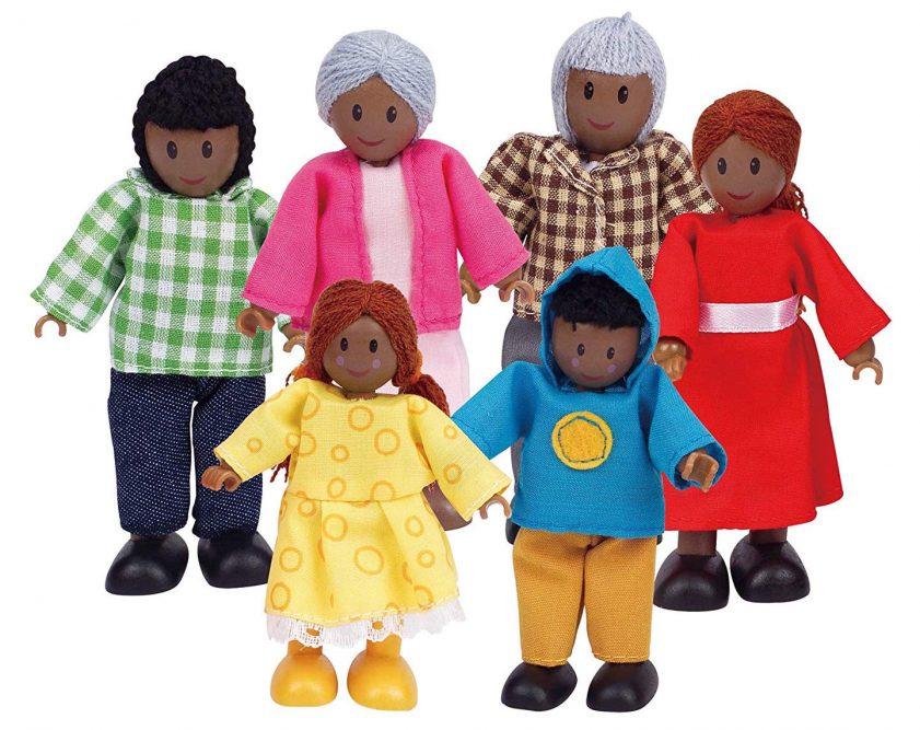 Diverse dollhouse dolls | Hape