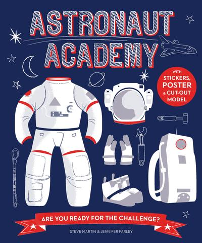 Astronaut Academy activity adventure book: Cool gifts under $15 for kids