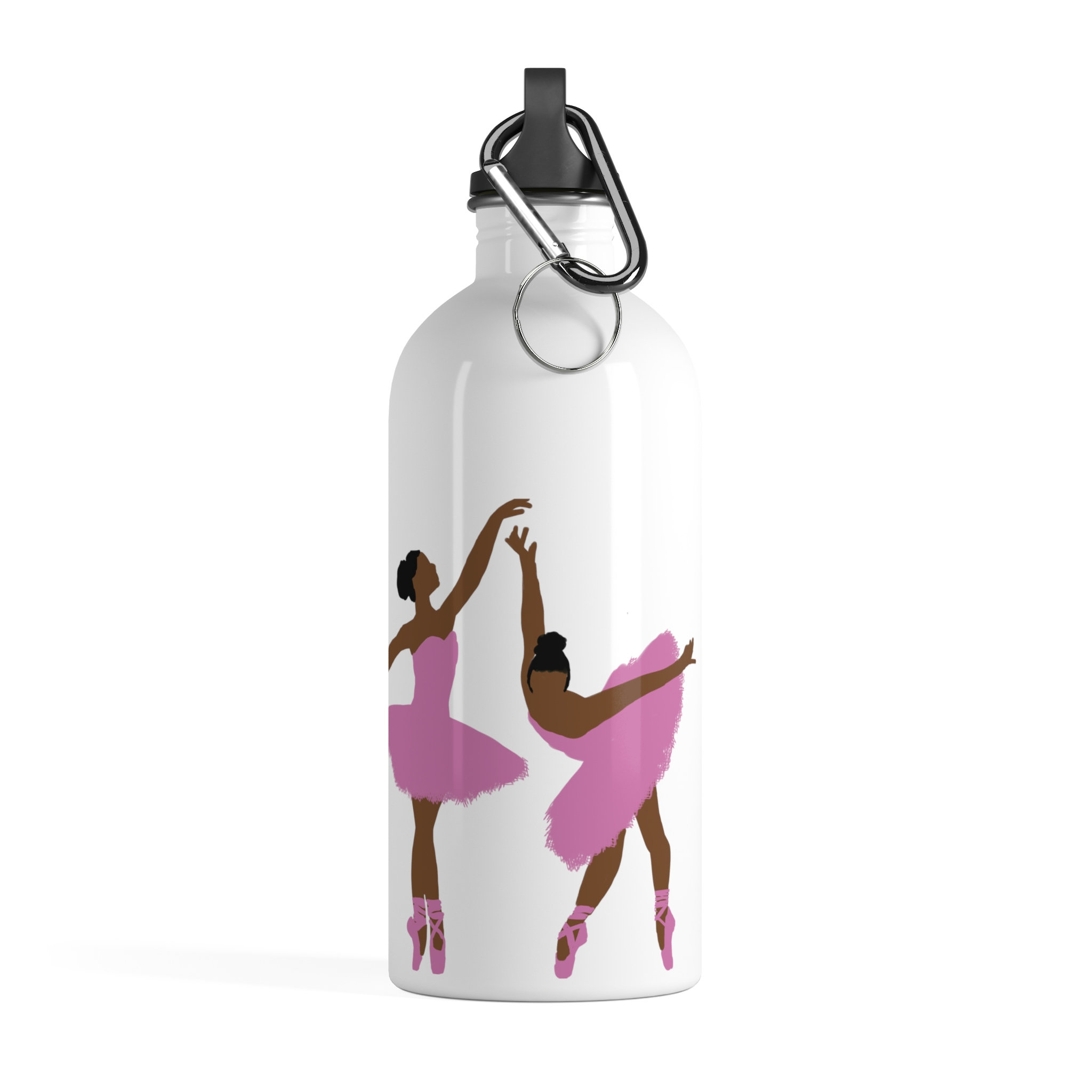 Cool gifts for tweens; Black ballerina water bottle by From Keeks with Love