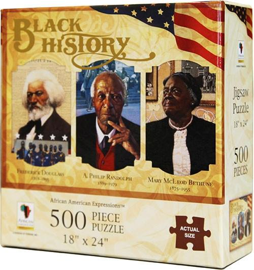 Cool kids' gifts under $15:  Black History Puzzle