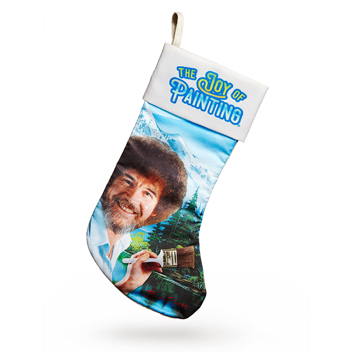 Cool kids' gifts under $15: Bob Ross Christmas Stocking