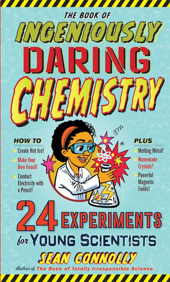 Cool kids' gifts under $15:  The Ingenious Book of Chemistry