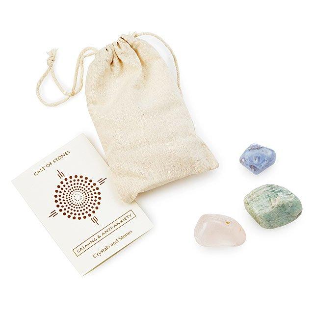 Affirmation stones gift bag: cool, affordable gifts under $15