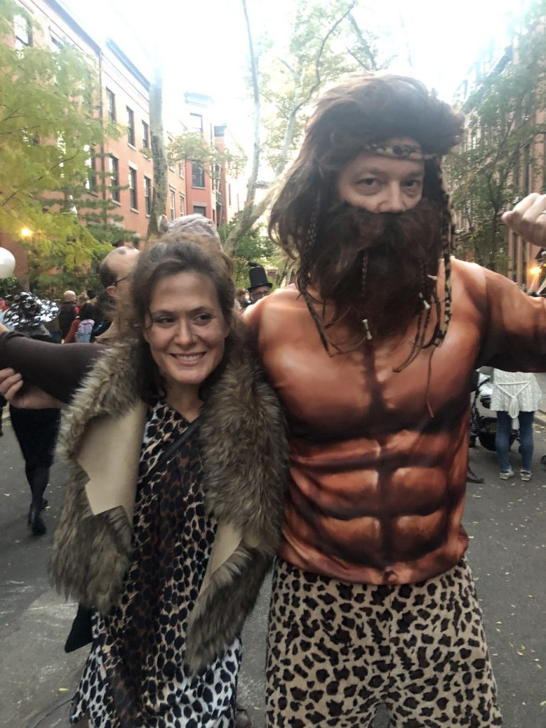 Best Garden Place, Brooklyn Halloween costumes 2018: Caveman family | © Cool Mom Picks