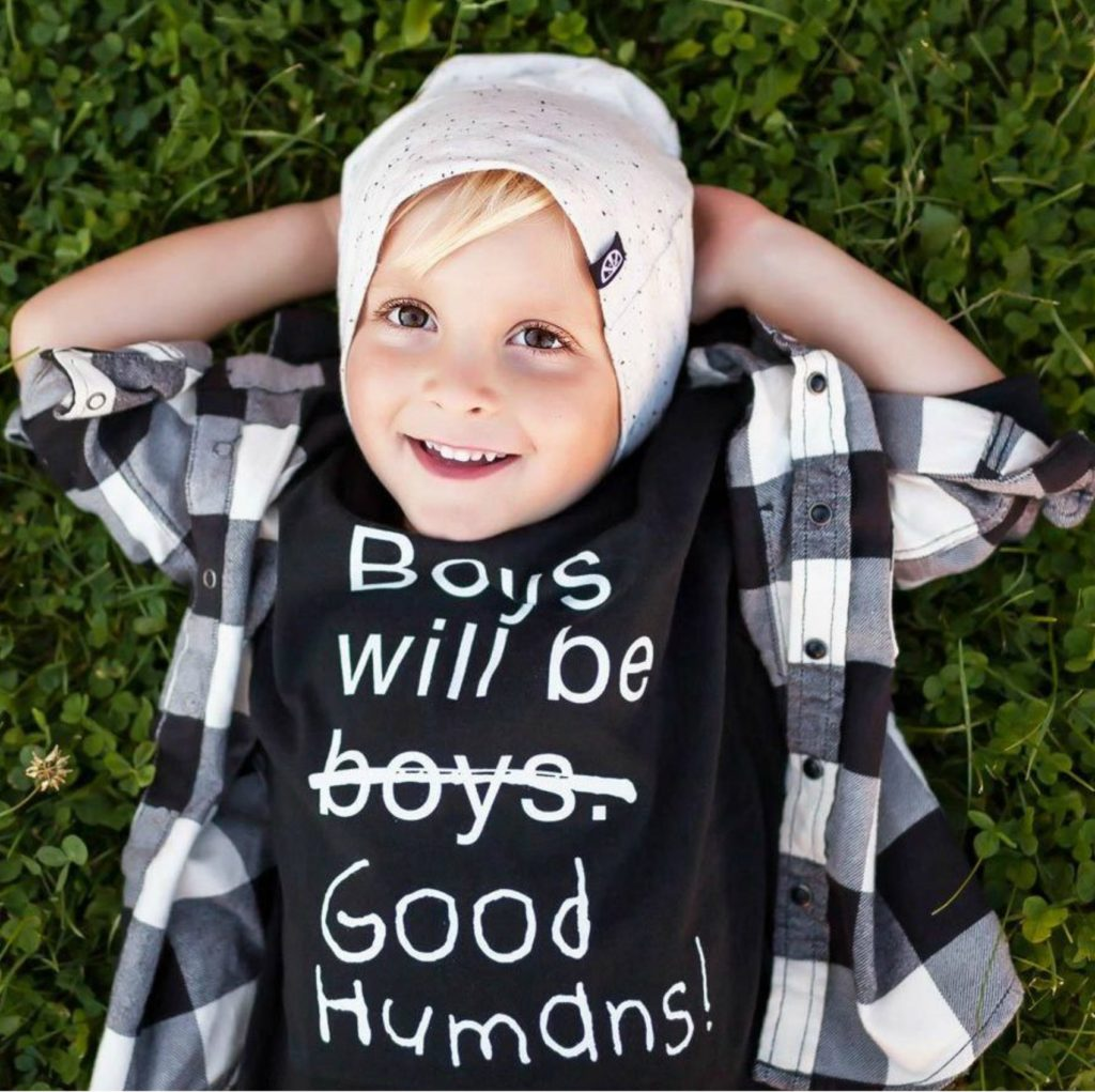 Free To Be Kids Boys With Good Humans T Shirt