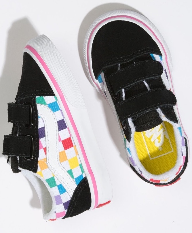 Checkerboard Old Skool V by Vans | The Coolest Birthday Gifts for 4 year olds