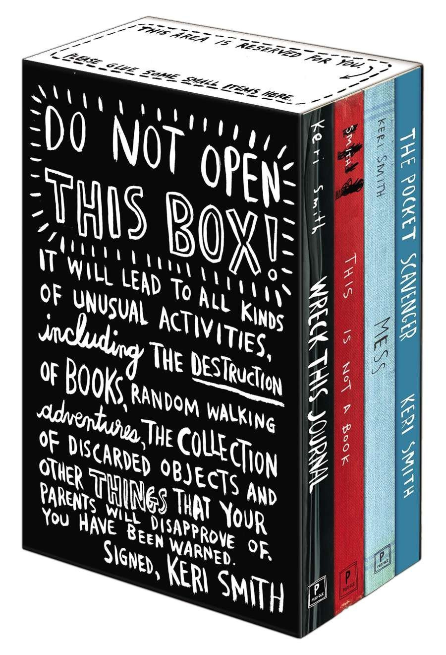 Keri Smith's books | The Coolest Birthday Gifts for 8 year olds