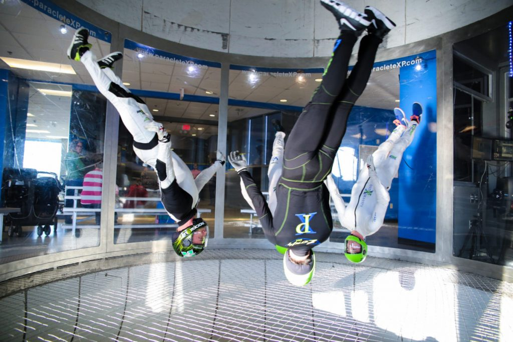 Cool gifts for men: An indoor skydiving lesson
