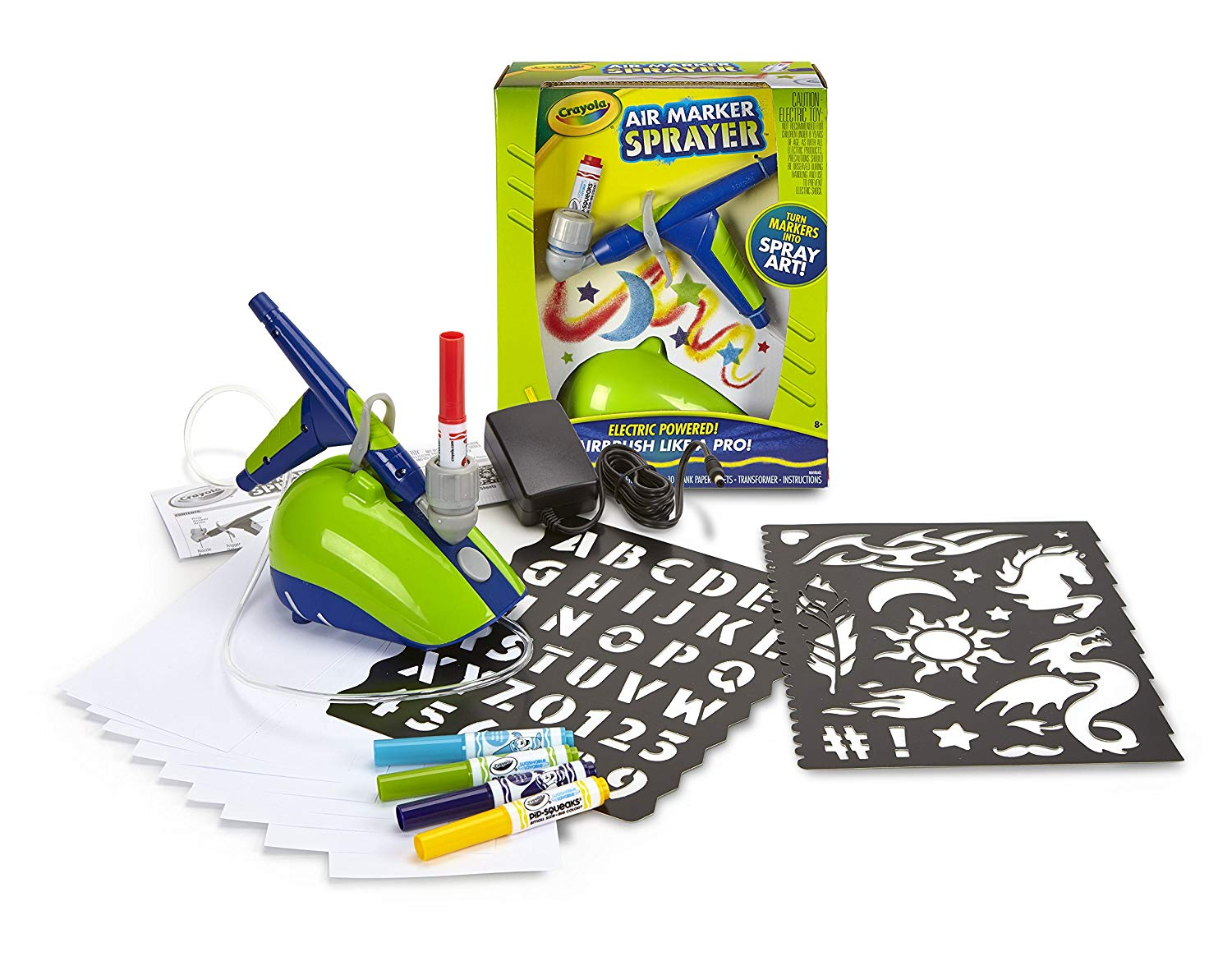 Cool kids' gifts under $15: Crayola marker airbrush spray kit