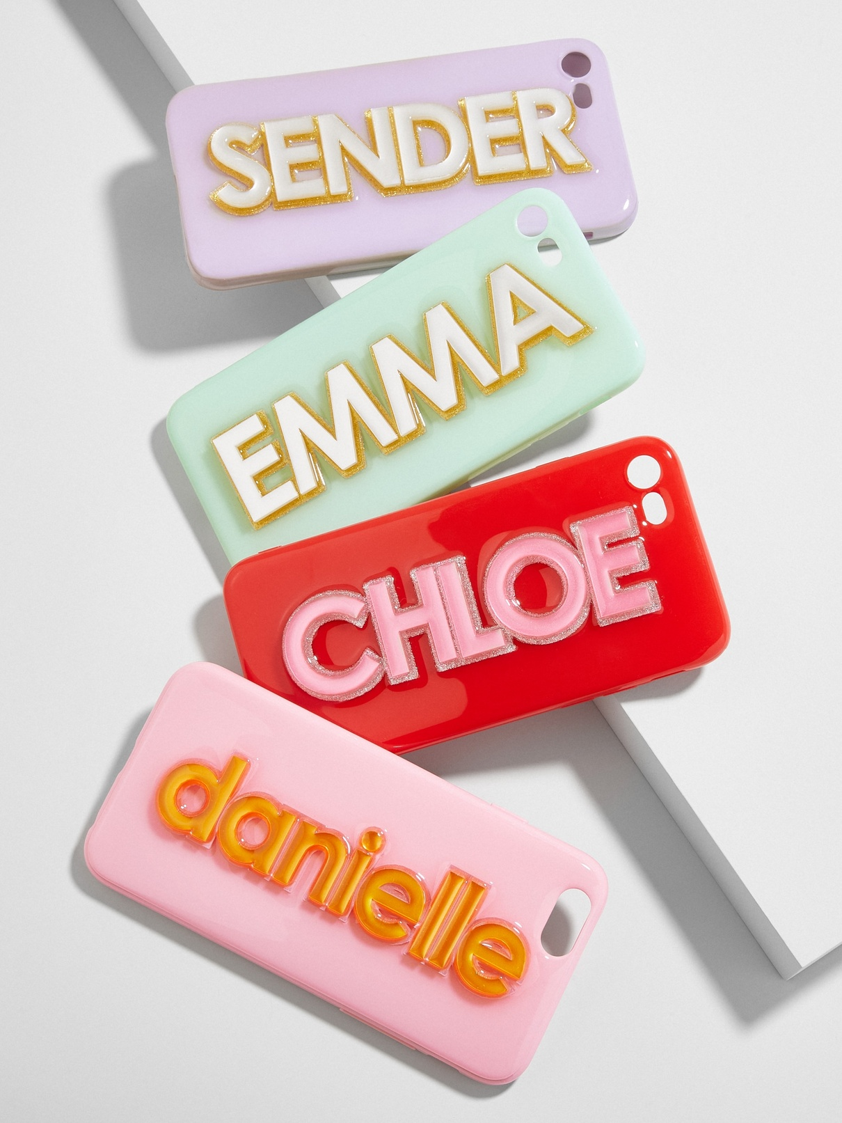 """Creative personalized gifts: Custom name """"get off my case"""" phone cases"""