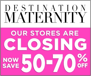 Destination Maternity Sale