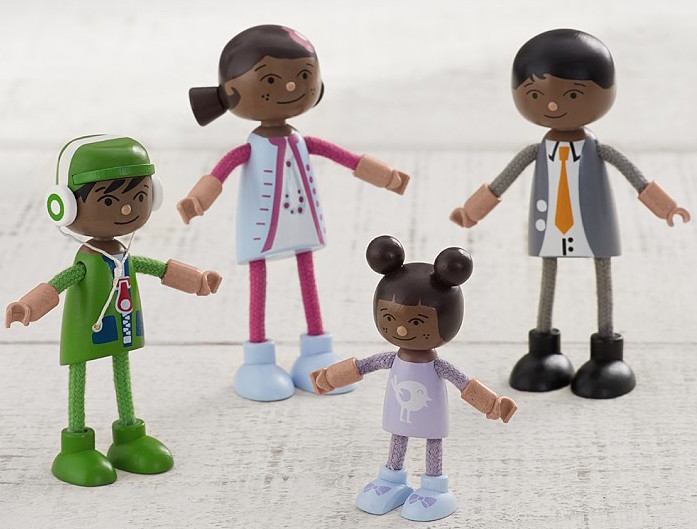 Diverse dollhouse doll family | Pottery Barn Kids