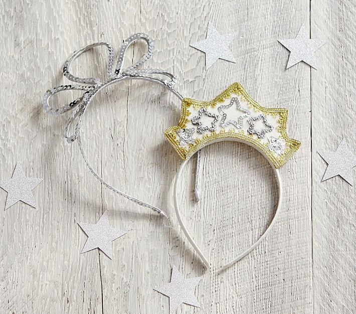 Cool kids' gifts under $15:  Dress-up crowns at Pottery Barn Kids