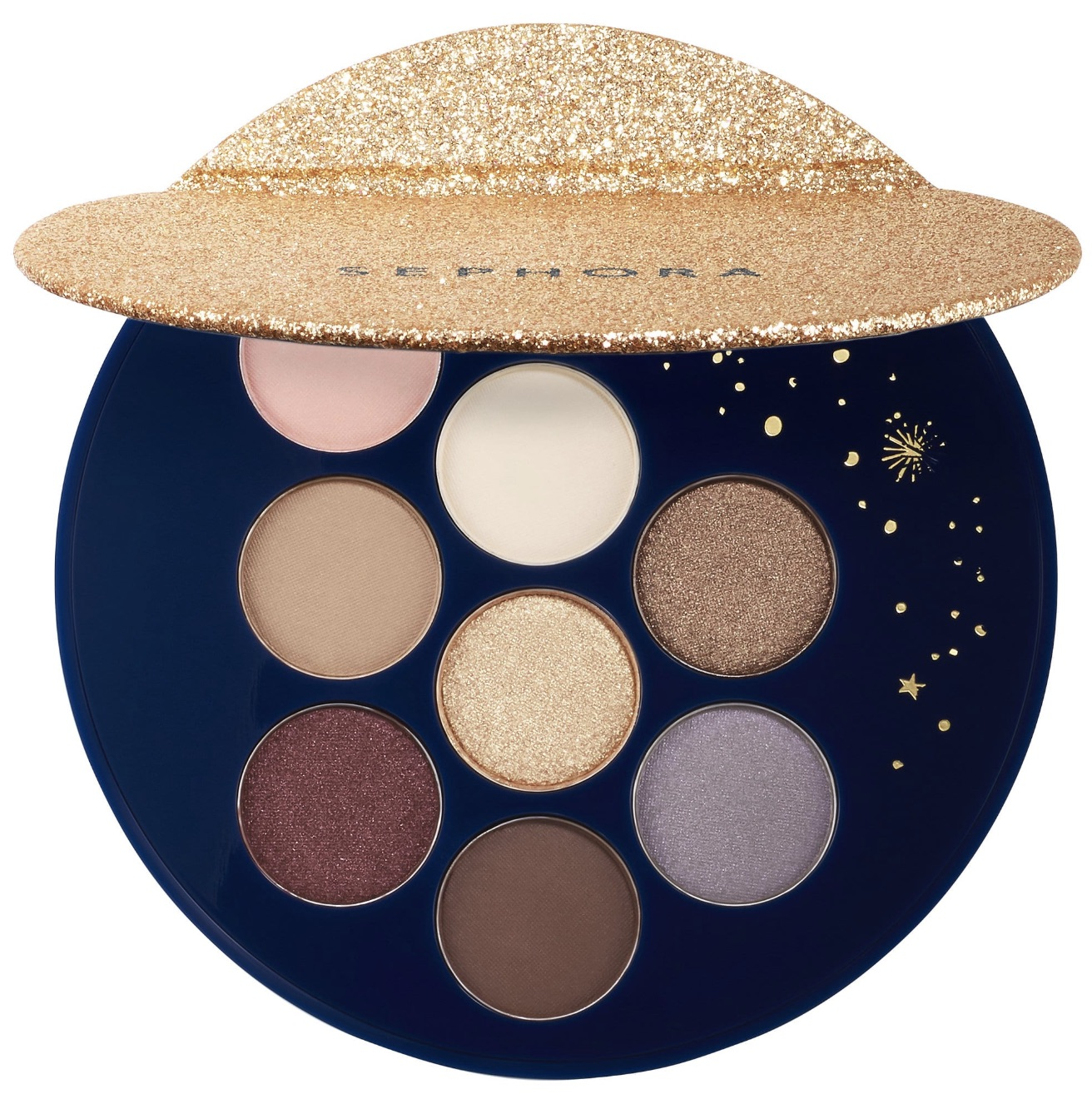 Cool affordable gifts under $15: Enchanted Sky shadow palette by Sephora Collection