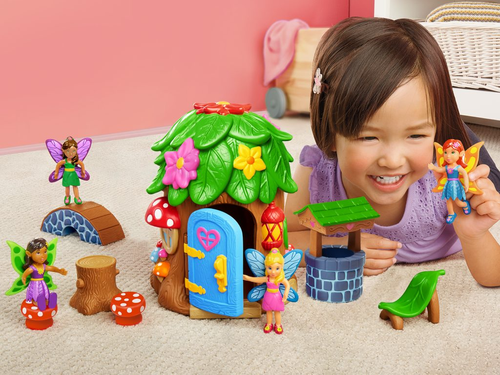 Learning toys for the holidays at Lakeshore Learning: The Fairy Land Playset inspires imaginary play and social-emotional intelligence (sponsor)