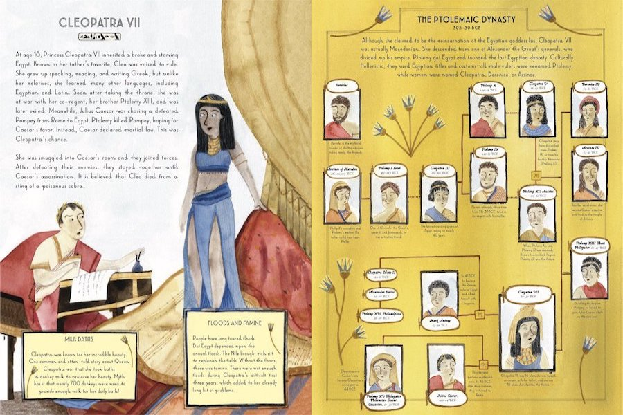 History nerd alert: Famous Family Trees is the book your kids will disappear into