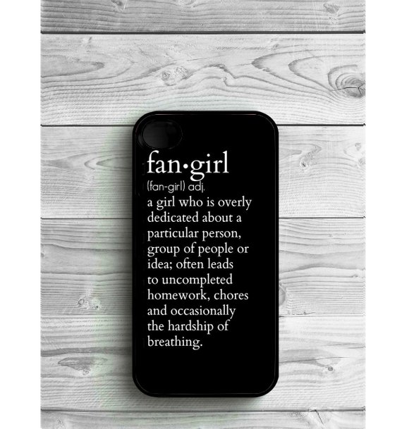 Cool kids' gifts under $15:  Fangirl definition iPhone case