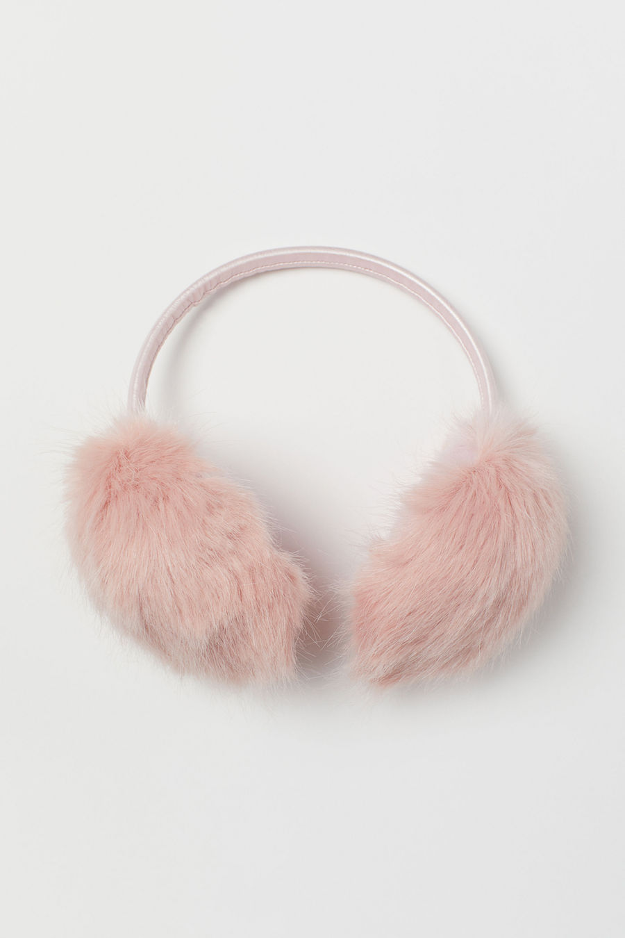 Cool kids' gifts under $15:  Pink fuzzy earmuffs from H&M