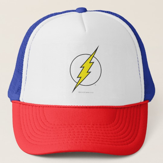 Cool kids' gifts under $15: Flash lightning bolt trucker hat