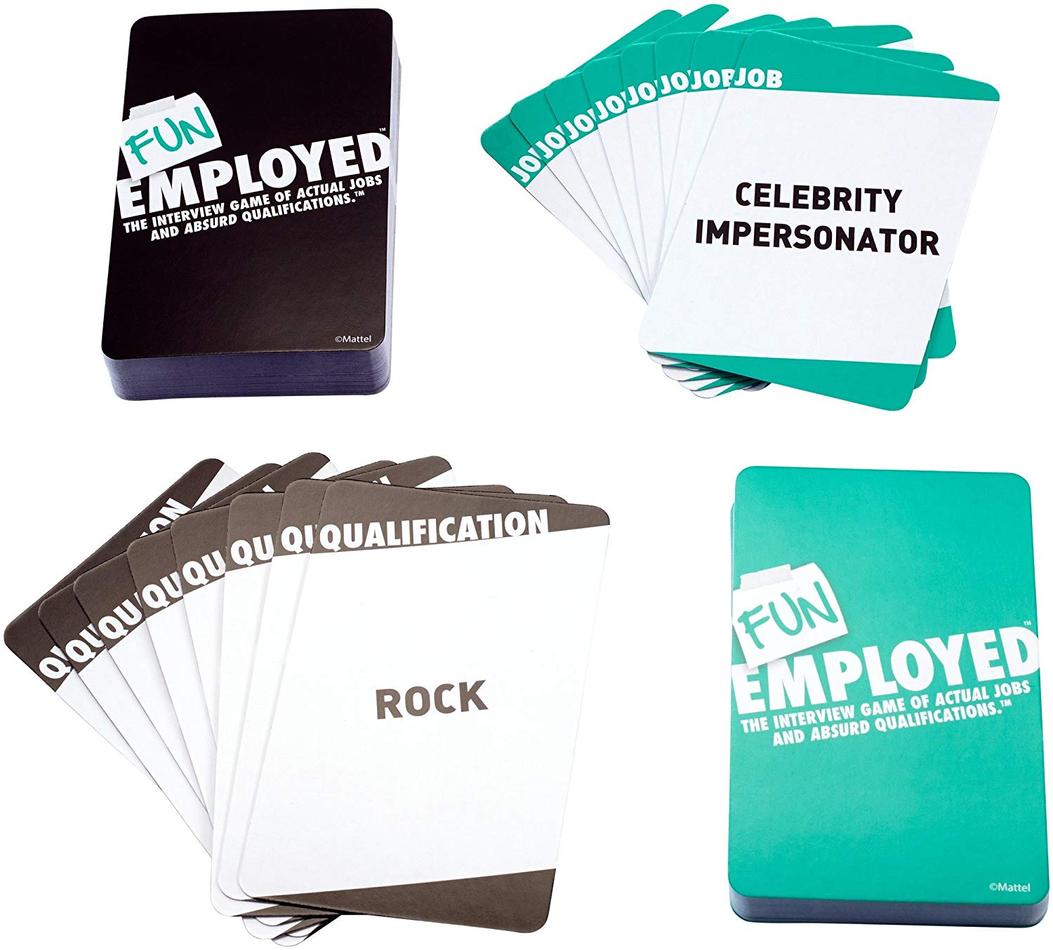 Cool affordable gifts under $15: Funemployed card game