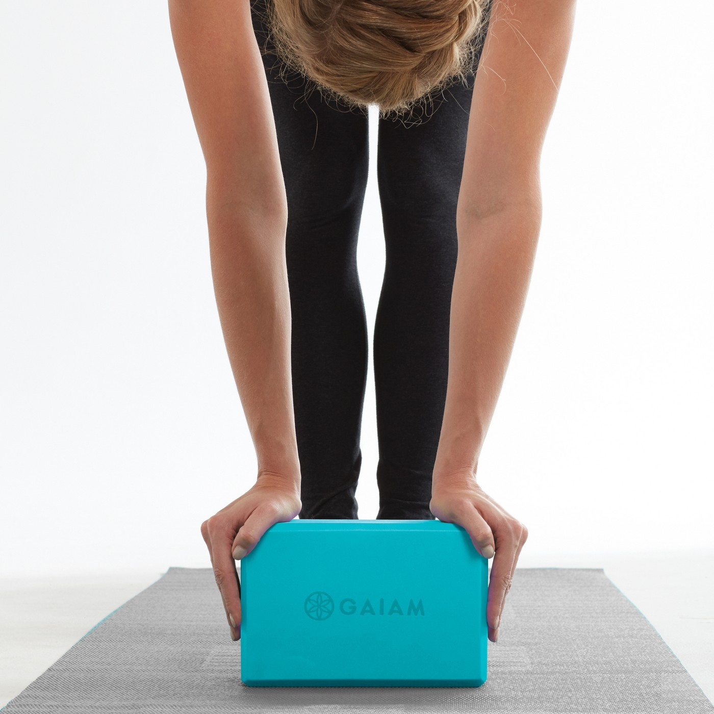Cool affordable gifts under $15: Gaiam tricolor yoga block